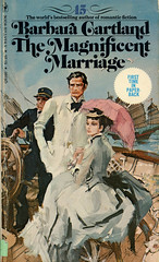 Novel-The-Magnificent-Marriage-by-Barbara-Cartland (Count_Strad) Tags: novel book pages read reading pulp barbaracartland romance