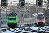 SBB Lokomotive Re 460 080 - 5 mit Taufname Tre Valli mit Werbung Migros ( Werbelokomotive - Seit 070714 - Hersteller SLM Nr. 5557 - ABB - Inbetriebnahme 1994 - Elektrolokomotive ) am Bahnhof Bern im Kanton Bern der Schweiz (chrchr_75) Tags: albumzzz201701januar christoph hurni chriguhurni chrchr75 chriguhurnibluemailch januar 2017 albumbahnenderschweiz201716 albumbahnenderschweiz schweizer bahnen eisenbahn bahn schweiz suisse switzerland svizzera suissa swiss re460 re 460 albumsbbre460 sbb cff ffs schweizerische bundesbahn bundesbahnen lok lokomotive chrchr chrigu werbelokomotive train treno zug albumbahnsbbre460werbelokomotiven