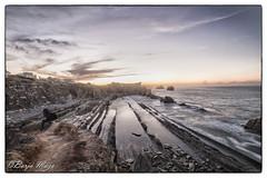 _MG_0356 (Borja Maza) Tags: cantabria paisaje landscape playadelaarnía arnía longexposure playa beach rock largaexposición