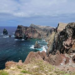 Madeira - Ponta de São Lourenço (pom.angers) Tags: panasonicdmctz10 2011 july rochinha pontadesãolourenço madeira portugal atlanticocean cliffs 100 150 200 european europeanunion