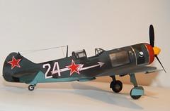 La-7 (1) (mcjaffa) Tags: lavochkin la7 scalemodel eduard 172 7063 profipack ametkhansultan