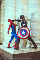 PS_86870-2 (Patcave) Tags: sunday dragon con dragoncon 2016 dragoncon2016 cosplay cosplayer cosplayers costume costumers marvel comics avengers movie spiderman captain america