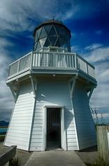 Manukau Heads Light House (Haroon Mustafa) Tags: newzealand lighthouse light house manukau haroonmustafa nikon d70s hdr sky blue pacificoceanscenic historic