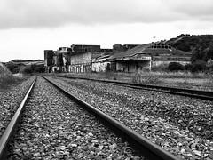 TrainTracking (Ryan Bourke) Tags: railway traintracks factory building old lost blackandwhite ghostly ryan bourke