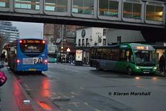 395 and 331, Upper Parliament Street, 7/1/17 (hurricanemk2c) Tags: nct nottinghamcitytransport 395 331 yx63kfk yj11ohb