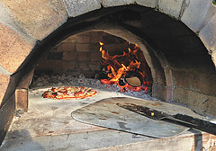 Wood Fired Pizza (sallyNZ) Tags: 23 single pizza 52in2017challenge scavenger7 thesimplelife