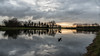 Goede morgen Brielle (robvanderwaal) Tags: zonsopkomst 2017 netherlands bird vogel reflection reflectie nederland brielle sunrise sunlight rvdwaal robvanderwaalphotographycom