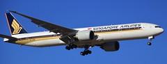 9V-SWB | Singapore Airlines | SQ227 | SIN - MEL | Boeing 777-312(ER) | Melbourne International Airport | (MEL/YMML) (bukk05) Tags: 9vswb singapore singaporeairlines sq227 sin melbourne melbourneinternationalairport mel melymml ymml boeing777312er world wing explore export engine earth runway tamron tamron16300 tourist travel tourism touchdown thrust turbofan tullamarine international photograph photo passenger plane planet aeroplane krisflyer silverkrislounge agreatwaytofly staralliance light landing jet jetliner holiday flickr fly flight flying sky summer 2017 australia air airport aircraft airliner airportgraphy aviation zoom canon60d canon victoria boeing boeingcommercialairplanes boeing777 777 ge90115b1 ge