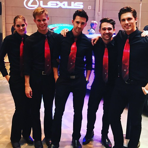 Looking sharp in red ties! #rmp #lexus #girlboss #events #eventlife #hollywood #staffing #200ProofLA #200Proof