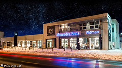 Mercedes-Benz Witman by night