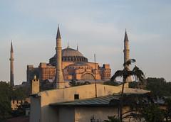 hagiasophiasunset (dougschlock) Tags: sunset church museum architecture turkey istanbul mosque atmospheric