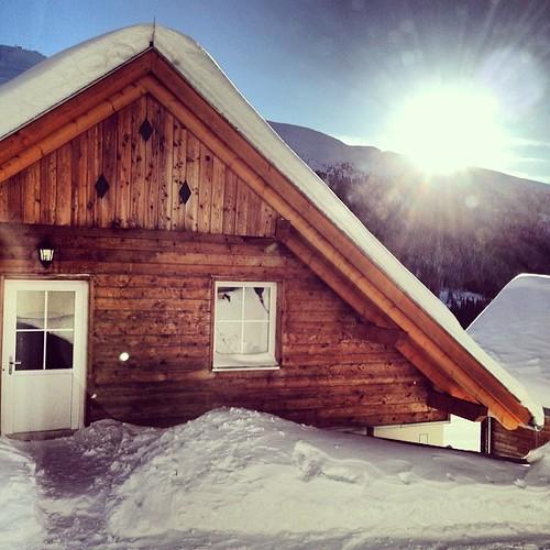 #sunrise #katschberg #landal #austria #bestview #snow #snowpic #snowfun #snowalert #snowchaos #instapic #picoftheday #instagood #instasnow #instaview