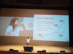 Gemma Muñoz hablando del Big Data como ventaja competitiva (torresburrielestudio) Tags: analítica datos bigdata analíticaweb ventajacompetitiva