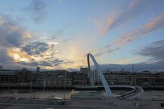 Millennium sunset 2015-06-19-7Dmkii-09488 (Eddy Wong WW) Tags: bridge sunset newcastle millennium