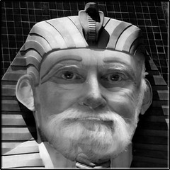 Meet The Pharaoh (Romair) Tags: downunderchallenge rogerjohnson topazbweffects