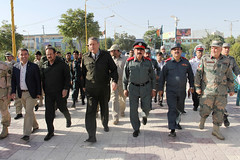 سفر وزیر صاحب امور داخله به ولایات بلخ، سرپل و فاریاب