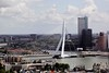Erasmusbrug Rotterdam (Tom van der Heijden) Tags: rotterdam erasmus euromast erasmusbrug manhattanaandemaas