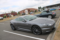 Aston Martin DBS (xwattez) Tags: auto france car automobile market parking voiture british transports simply astonmartin dbs v12 2015 vhicule rassemblement anglaise launaguet