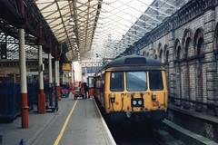 303 082 (Sparegang) Tags: 303082 class303 pressedsteelemu emu crewe britishrail midlandregion 1990