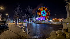 Liverpool Ice Festival (TehJazzi Photography) Tags: liverpool city centre photography long exposure colours albert dock salthouse liver building canon nikon d5500 100d wide angle 10mm 50mm 30mm prime american diner bus old school retro life ring christmas lights festival wheel echo arena reflections water quay boat port winter dark shows rides fun fair beatles story artistic photographer canvas prints