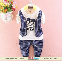 Baby Boy First New Year Outfit for Kids (pinkblueindia) Tags: kidswear boyswear 1stnewyear boysoutfits partysuit toddlerboy formaldress babyclothes buy online shopping india