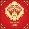 free vector Chinese New Year 2017 Monkey Face Background (cgvector) Tags: 2017 animal art asianculture asianmotif brushstroke celebration chickenvector china chinese chineseart chineseartampdesign chinesebackground chinesecalligraphy chinesecharacter chineseculture chinesedecoration chinesegraphic chinesegreetingcard chinesegreetings chinesemotif chinesenewyear chinesenewyearbackground chinesenewyeardecoration chinesepaintings chinesetradition chinesewallpaper clipart happynewyear inkpainting orientalart paper prosperity red roostervector vector vectorbackgrounds zodiac background newyear winter party design wallpaper color happy holiday event happyholidays winterbackground