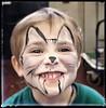 GatMat (biofafoto) Tags: tigre gatto matteo bambino pittura faccia maschera cesalli fabio foto