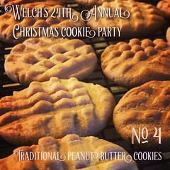 No. 4 Traditional Peanut Butter Cookies   Welch's 24th Annual Christmas Cookie Party - Recipe: Joy of Cooking #cookies #food #peanutbutter (dewelch) Tags: ifttt instagram no 4 traditional peanut butter cookies   welchs 24th annual christmas cookie party recipe joy cooking food peanutbutter