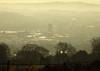 Cwmbran From Mynydd Maen 20 January 2017 (Cold War Warrior) Tags: mynyddmaen cwmbran mist sunrise