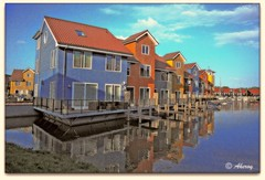 Reitdiephaven,Groningen stad, the Netherlands, Europe (Aheroy) Tags: europe surreal colours different city dutch stad beautifull netherlands arts art nederland architecture holland aheroyal aheroy hallucination groningen fun town harbour water singleraw