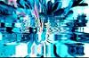Through the blue light (Sebmanstar) Tags: art couleur color creation creative creatif pentax photography transformed photoshop manipulation digital numerique research imagination imagine blue nature explore abstract abstrait