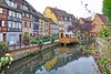 Colmar (yonca60) Tags: colmar france alsace houses mansions medievaltowns river reflection yansima travel interestingplaces beautifultowns city train colorfulhouses colorful petitevenice