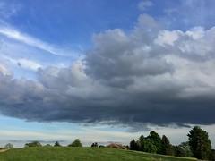 Cumulus Clouds (marylea) Tags: may25 2015 spring sky blue weather clouds cumulous cumulus