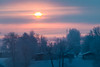 Morning Sun and cold temps (langdon10) Tags: canada canon70d quebec shoreline stlawrenceriver cold frost morning snow sunrise winter