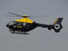 G-POLC Eurocopter EC135 of Greater Manchester Police (SteveDHall) Tags: gpolc eurocopterec135 greatermanchesterpolice gmp police helicopter policehelicopter emergency police151 ukp151 ec135 ec35 barton bartonaerodrome manchesterbarton cityairportmanchester 2016 eurocopter