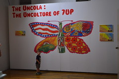 Unculture (radargeek) Tags: drpepper museum waco tx texas 7up ad uncola butterfly family