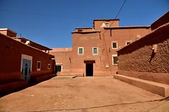 Lower village nearby Ait Ben Haddou (T Ξ Ξ J Ξ) Tags: morocco aitbenhaddou d750 nikkor teeje nikon2470mmf28 mud brick film shoot
