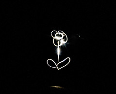 A light Daisy (PDKImages) Tags: lights torch dark hearts love sparklers sparkle message fizz writing fizzy heart cat face bright daisy flower