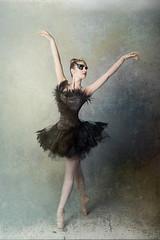 Elegant swan (HOtography by Simon Ho) Tags: ballet ballerina blackswan odile tutu yorkphotographer dancer dance