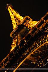 Eiffel Tower, Paris, France (Seven Seconds Before Sunrise) Tags: city travel urban paris france architecture night europe torre eiffeltower torreeiffel