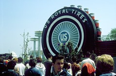 05 - US Royal Tire ferris wheel, NYWF (Maverick74) Tags: new york fair worlds 1964 nywf