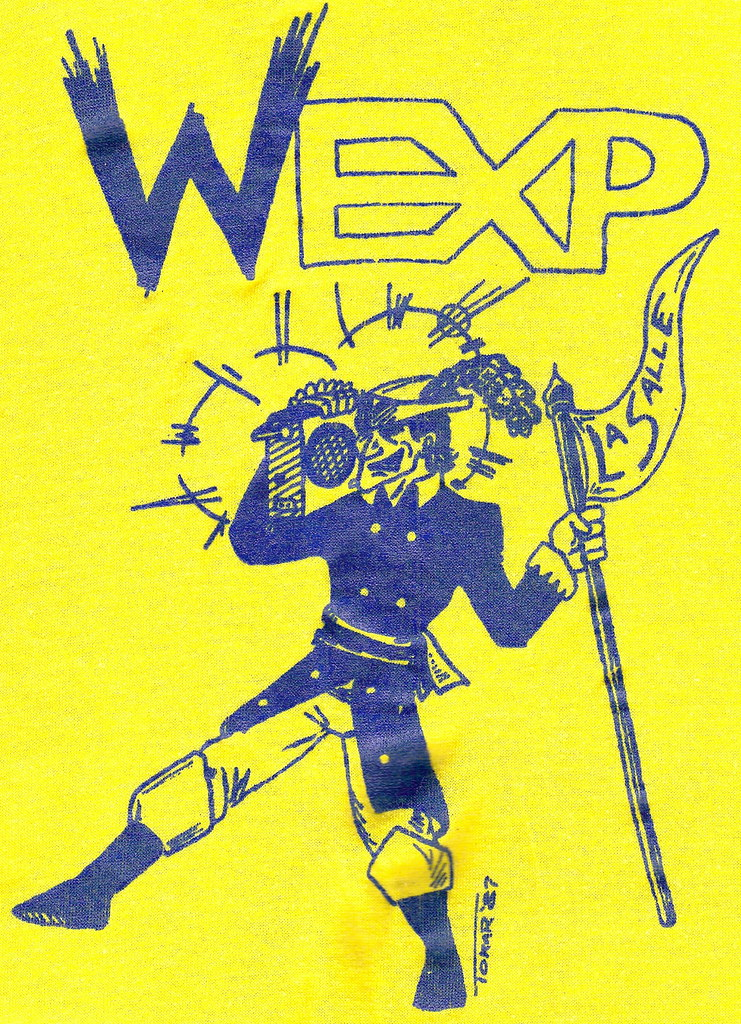 WEXP T-Shirt Logo from 1987