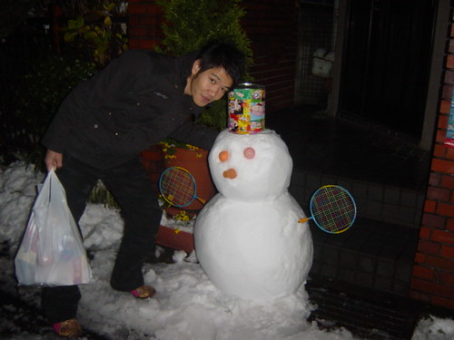 masao with snowy