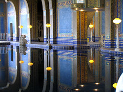 The Indoor Pool at Hearst Castle (roddh) Tags: california blue castle pool topv111 swimming canon tile indoor 100v10f sansimeon hearst pro1 roddh