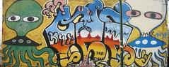 drive-by grunts (Luna Park) Tags: nyc streetart brooklyn truck ufo lunapark grunts 907 oze108