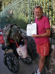 This is Arnott:  He's an Author and Homeless i...