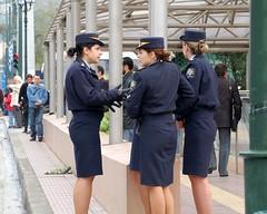 Girls in Uniform (RobW_) Tags: girls 1025fav greek march uniform police 2006 athens parade greece syntagma mar2006 25mar2006