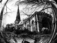 St Andrews Church - Kegworth (Matt West) Tags: bw white black topf25 graveyard bubble midlands chrch views700 views600 kegwirth ratemybw44 mwestutatafeature