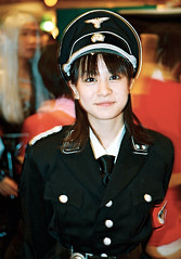 cutest SS girl ever… (colodio) Tags: ss ssofficer nazi uniform military german ww2 cosplayer convention japanese girl portrait cute kawaii 021208b26ssfraulein colodio japan japon nippon giappone 日本 asia tokyo 東京 asie explore suidobashi dome style creepy 角色扮演 japonais cosplay otaku