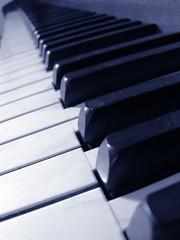 cliche piano shot